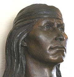 Cochise sculpture