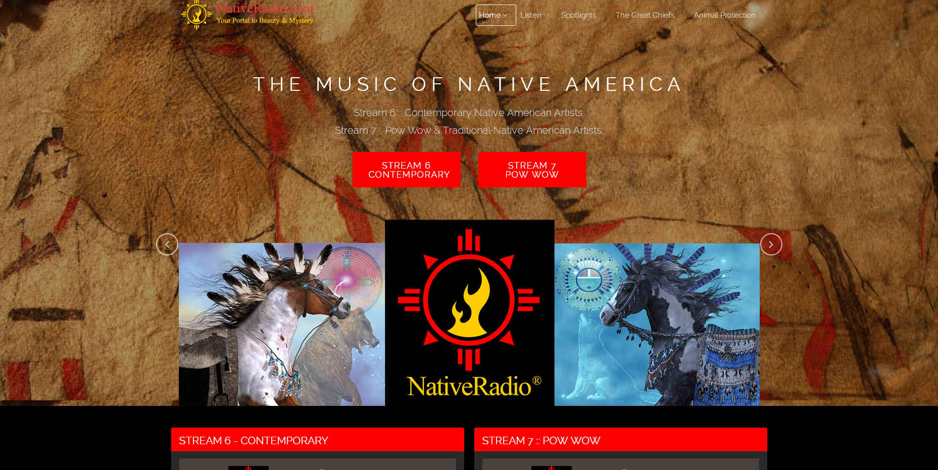 NativeRadio® New Website